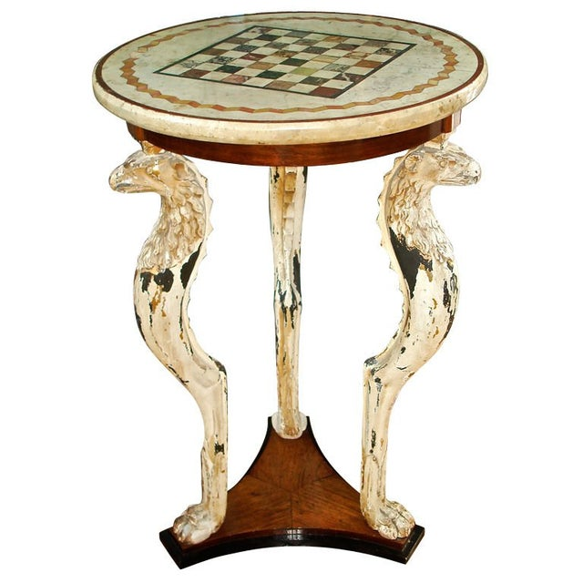 Wood Rare English Gueridon in Style of Thomas Hope For Sale - Image 7 of 7