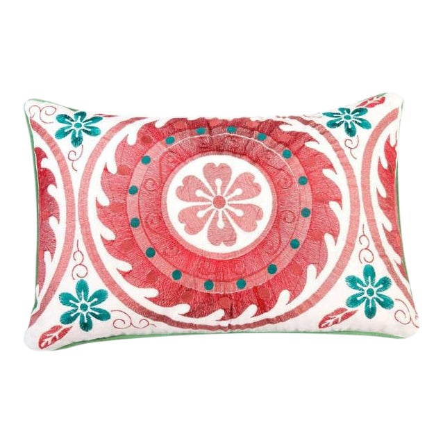 Nishchint Embroidered Pillow - Image 1 of 3
