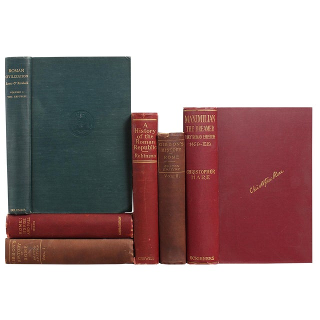 Roman History & Civilization Bookstack, S/6 - Image 1 of 2