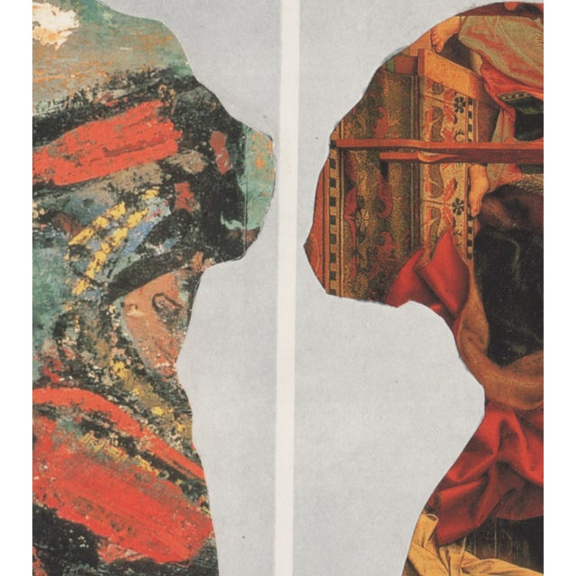 Ray Beldner Figural Triptych Collage - Image 5 of 5