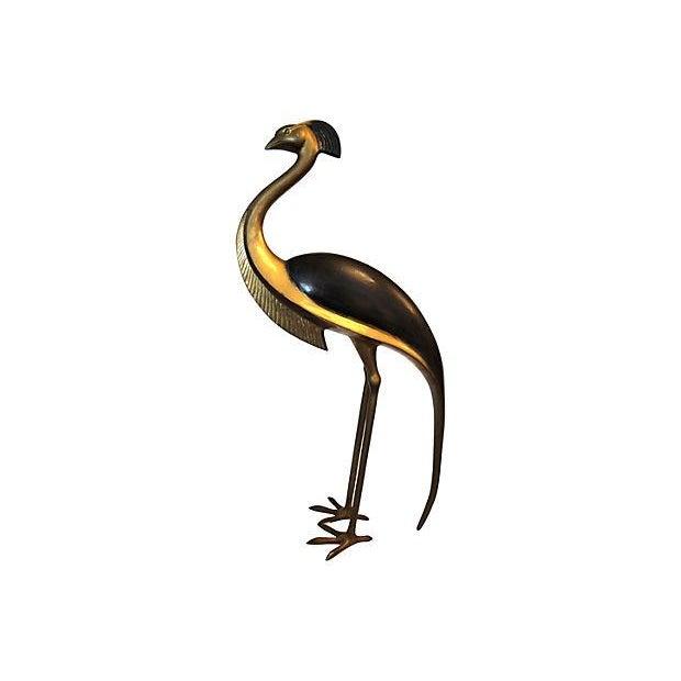 Vintage Bronze Bird Sculpture - Image 1 of 7