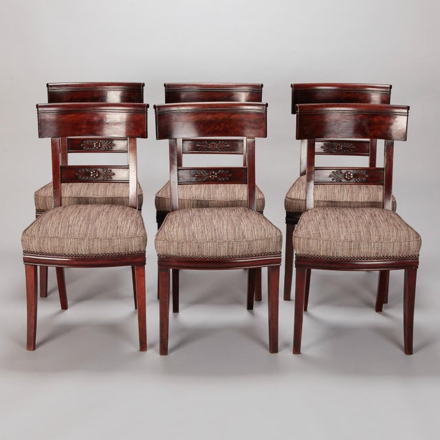French First Empire Dining Chairs - Set of 6 For Sale - Image 12 of 12