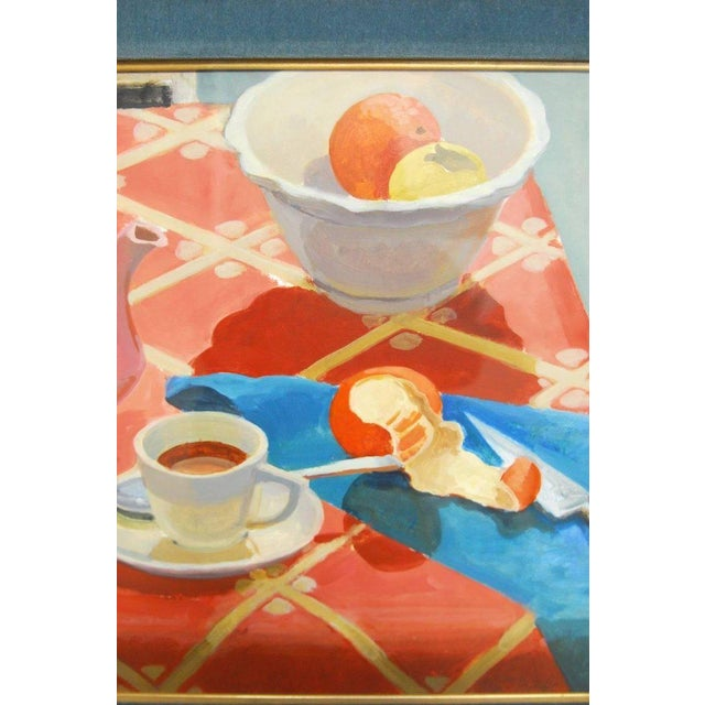 Breakfast Still Life Watercolor Painting by Lisa Esherick For Sale - Image 5 of 11