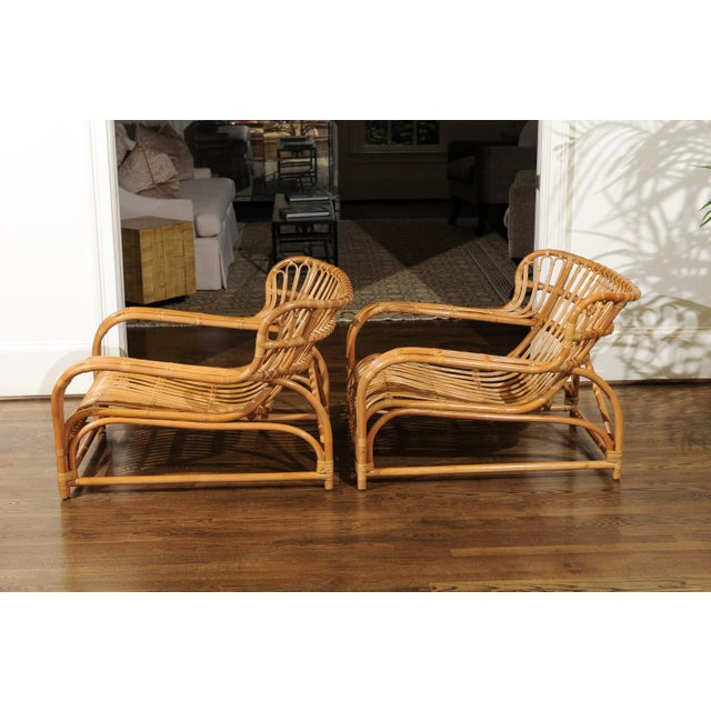 Spectacular Pair of Custom Commissioned Loungers After Viggo Boesen For Sale - Image 4 of 13