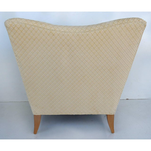 Sculptural Upholstered Club Chairs Attributed to Donghia - a Pair For Sale In Miami - Image 6 of 11