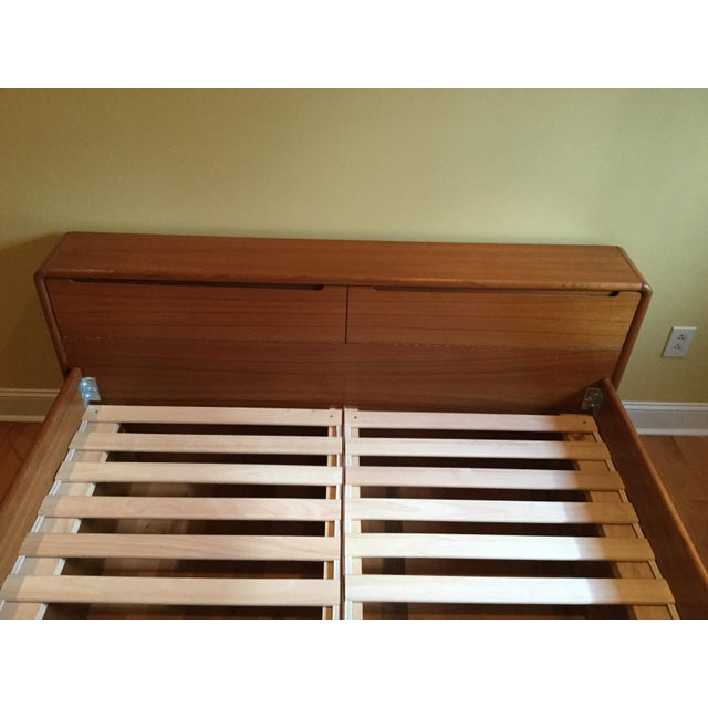 Teak Queen Bed Frame - Image 11 of 11
