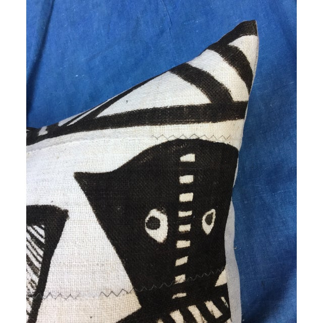 African Tribal Mudcloth Pillow For Sale In Los Angeles - Image 6 of 7