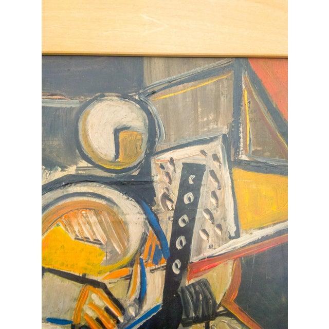 Cubism Cubist Portrait of Figure Painting by Kurt.S. For Sale - Image 3 of 6