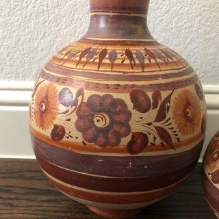 Boho Chic Mexican Water Jugs - a Pair Preview