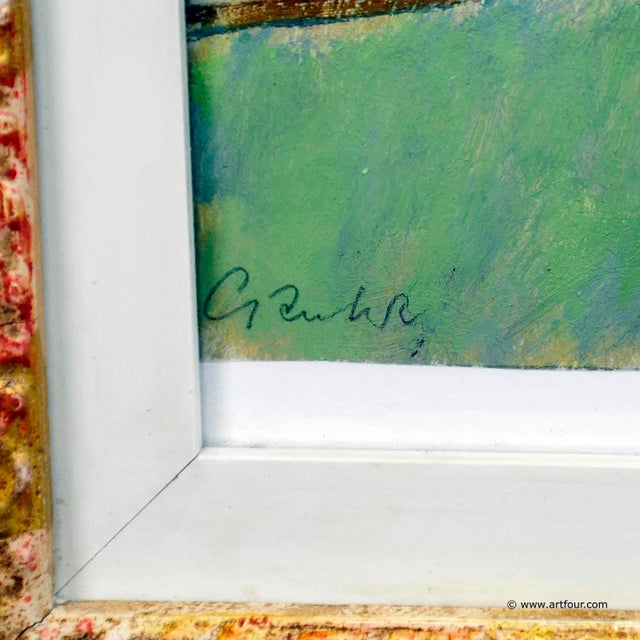 Impressionism Unknown - Impressionistic Watercolor Painting Of A Circus Scenery For Sale - Image 3 of 5