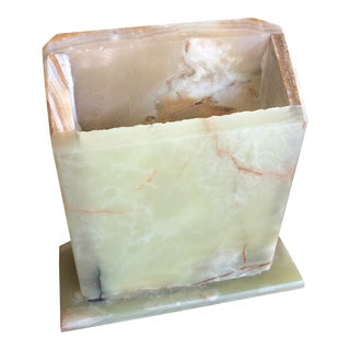 Marble Desk Accessory Holder** For Sale