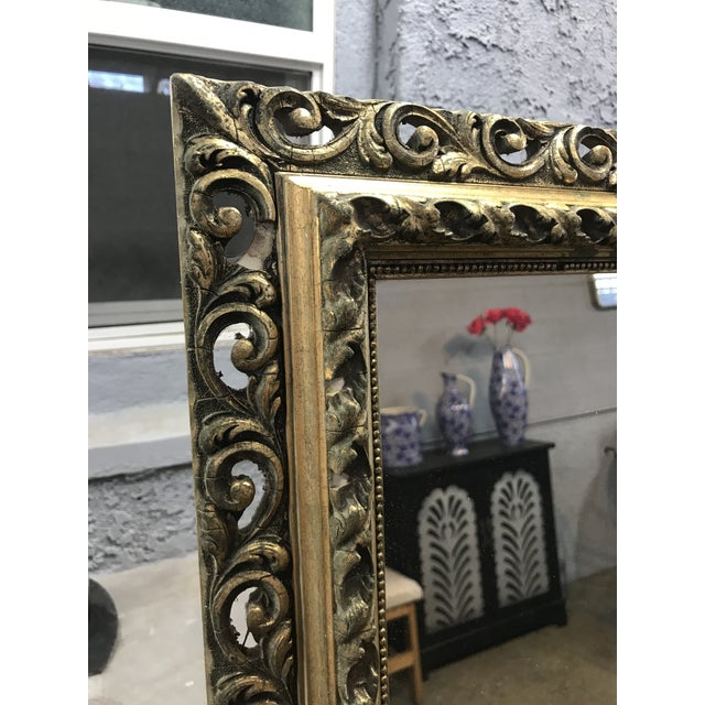 Gold Framed Wall Mirror - Image 4 of 4