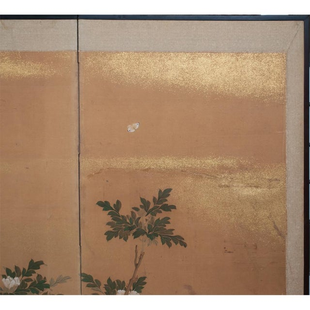 1880s Large Japanese Yamato-E Byobu Screen For Sale In Dallas - Image 6 of 13