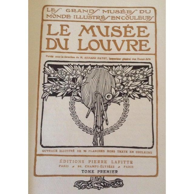 The School of Paris Le Musee du Louvre Books - A Pair For Sale - Image 3 of 10