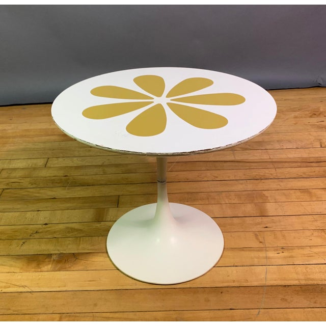 Howard McNab & Don Savage Tulip Side Table, Usa 1961 For Sale - Image 4 of 9