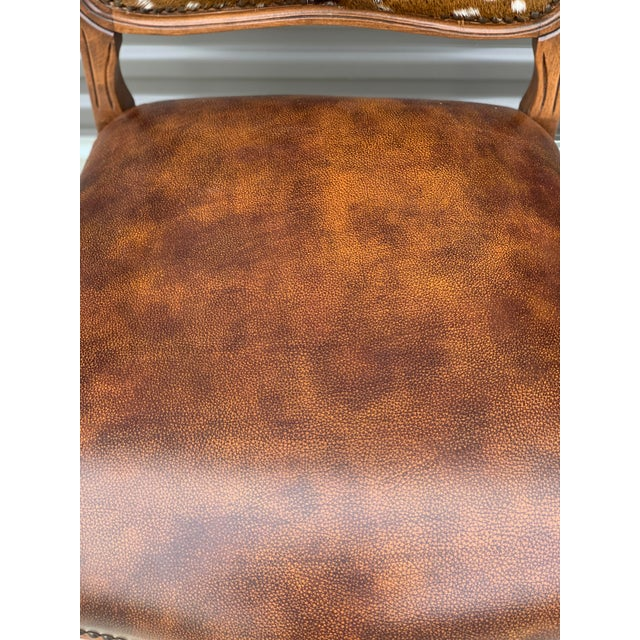 Modern Axis Deer Arm Chairs- a Pair For Sale - Image 12 of 13