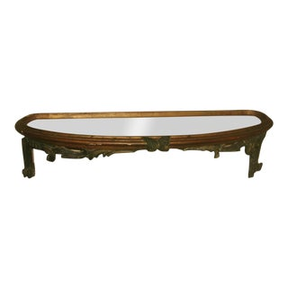 18th Century Palladio Carved Console Shelf For Sale