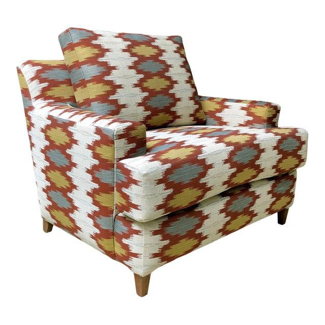 Custom South Western Arm Chair For Sale