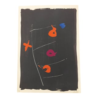 """Kikuo Saito, Serigraph """"Beggars Ladder Edition 160 Signed and Numbered in Pencil For Sale"""