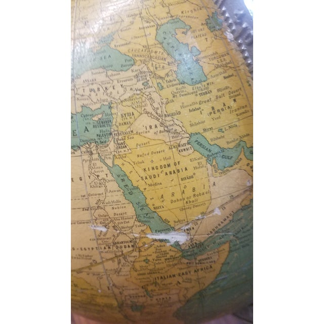 Cram's 1936 Deluxe Globe With Suns Rays For Sale In Dallas - Image 6 of 10