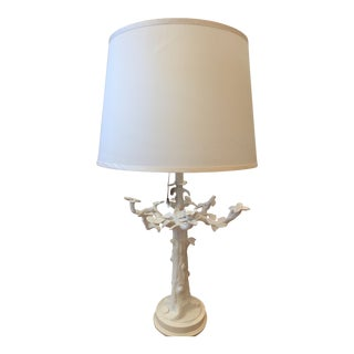Modern Bungalow 5 Barocco White Porcelain Lamp For Sale