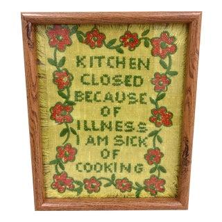 Vintage Cross Stitch Art