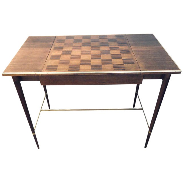 "MCM Game / Card Table ""The Paul McCobb Connoisseur Collection"" Fully Refinished For Sale"