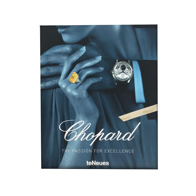 Paper Chopard Book With Hardcover Box For Sale - Image 7 of 7