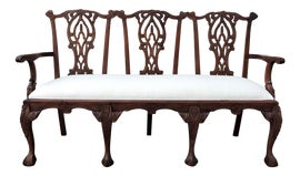 Image of Chestnut Settees