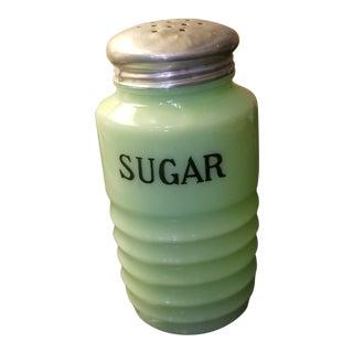 Art Deco Jadeite Sugar Shaker For Sale