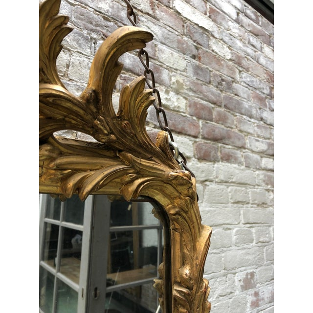 Early 19th Century Spectacular French Mirror From the Early 19th Century For Sale - Image 5 of 11