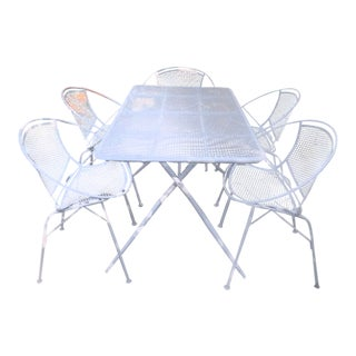 Mid-Century Maurizio Tempestini for Salterini Patio Set For Sale