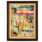 Image of 1960's Abstract Painting For Sale