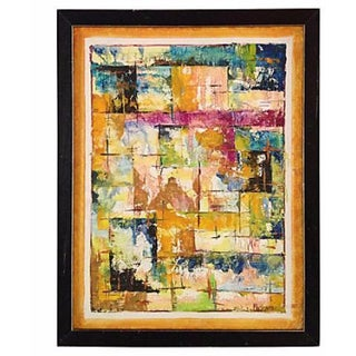 1960's Abstract Painting For Sale