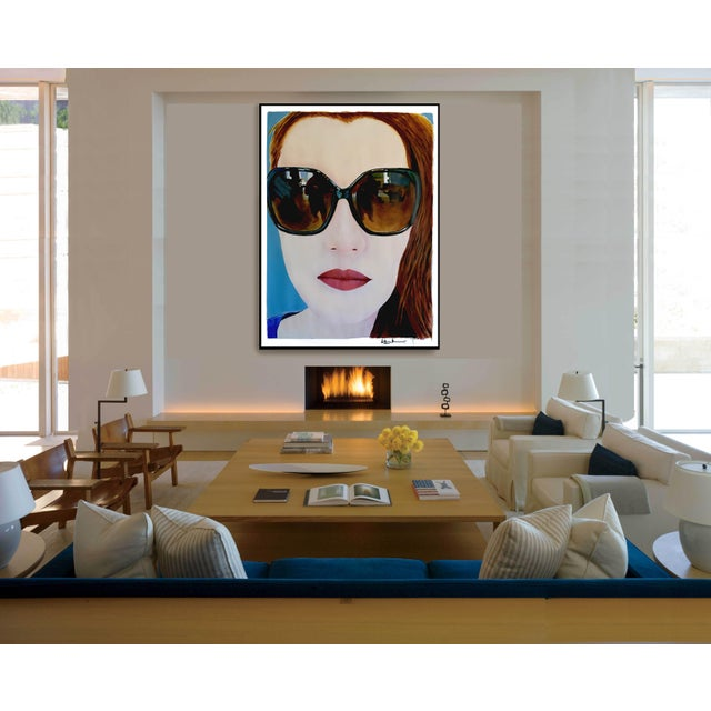 """""""Portrait of Claire"""" Painting by Geoff Greene For Sale - Image 6 of 11"""