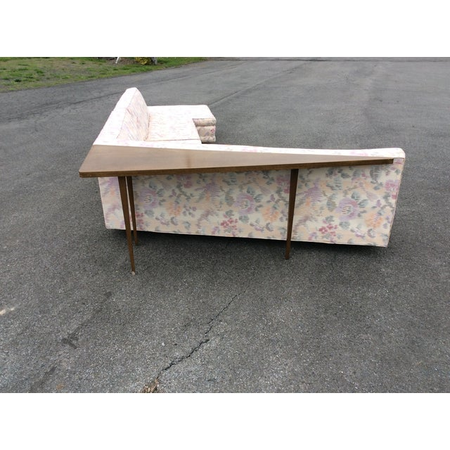 Harvey Probber Vintage Sectional Sofa with Table For Sale - Image 9 of 11