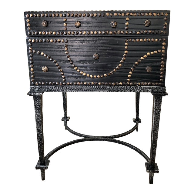 Document Box Accent Table From the Colonial Williamsburg Collection by Global Views For Sale
