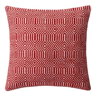 Kennith Ludwig Red Pillow For Sale