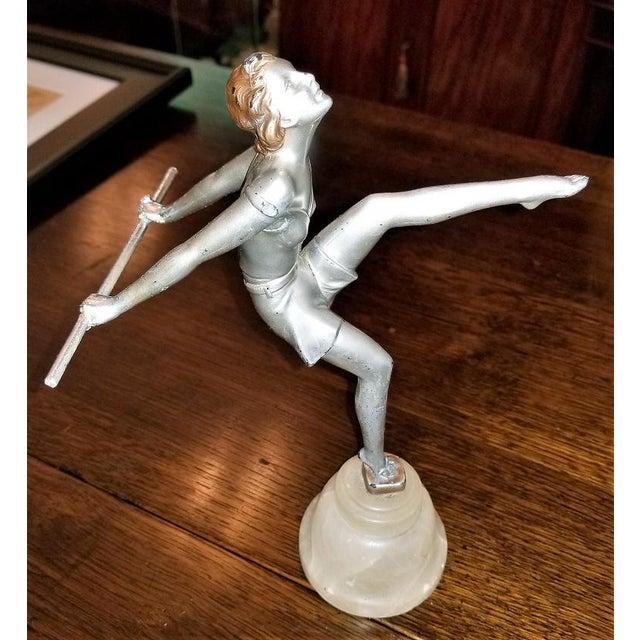 Art Deco Figurine of Dancing Girl For Sale - Image 12 of 12