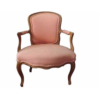 Louis XV Period Fauteuil Chair For Sale