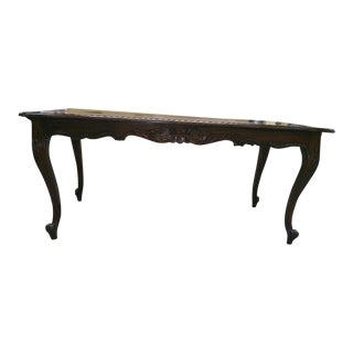 Queen Anne Style Dining Table For Sale