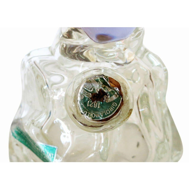 Archimede Seguso Alabastro Murano Squirrel Decanter Bottle - Image 7 of 7
