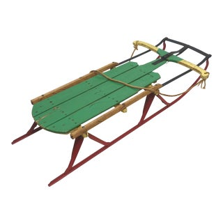 Vintage Flexible Flyer Snow Sled For Sale