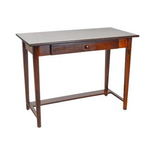 Small Modern Cherry Writing Desk w/ Drawer