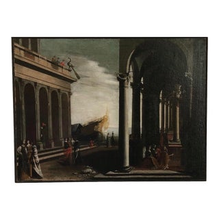 Early 19th Century Oil Painting For Sale