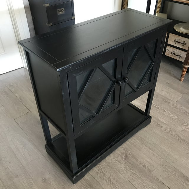 Black Contemporary Entryway Cabinet - Image 3 of 6