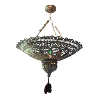 Moroccan Artisan Chandelier For Sale