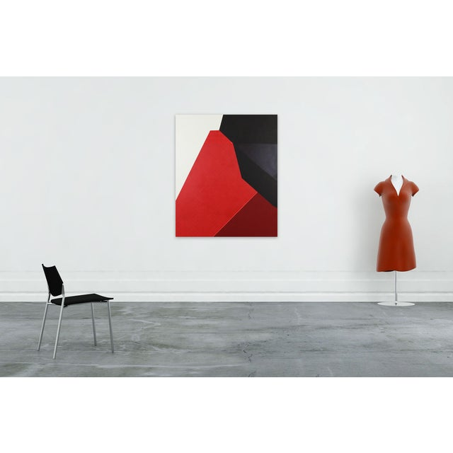 Acrylic, flash and mica on canvas Edition: Unique, Unframed. Audrey Barcio is an American abstract artist whose recent...