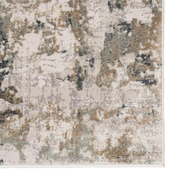 """Jaipur Living Lynne Abstract White Gray Runner Rug 2'6""""X8' For Sale - Image 4 of 12"""
