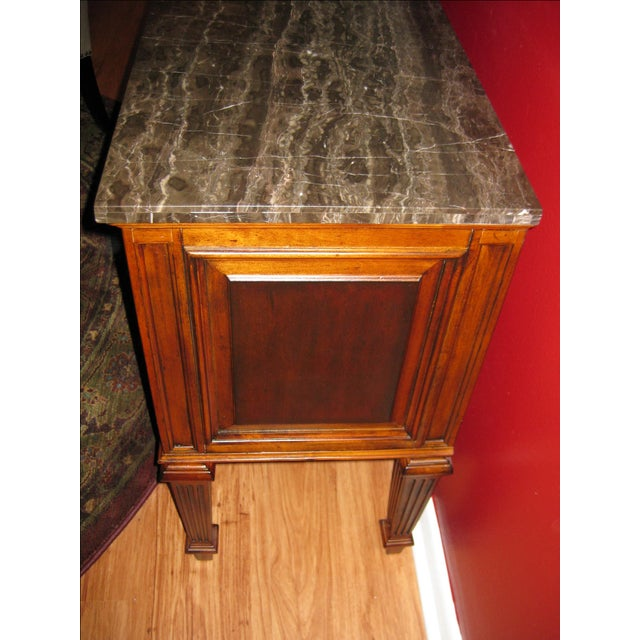 Ethan Allen Tuscany Bonner Console Table - Image 5 of 11